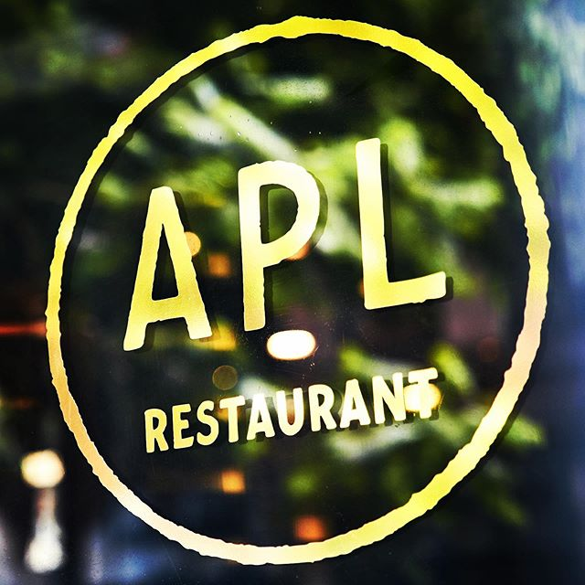 Instagram image from APL Restaurant