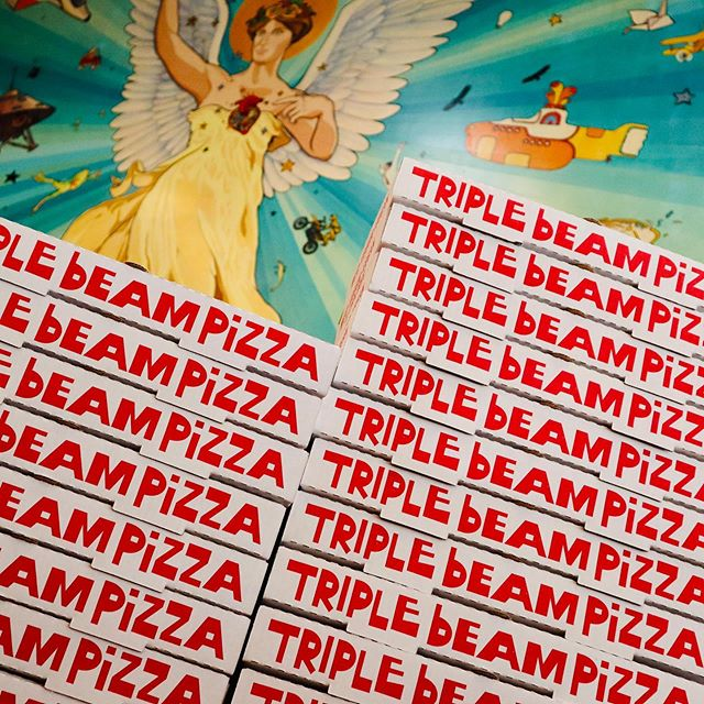 Instagram image from Triple Beam Pizza