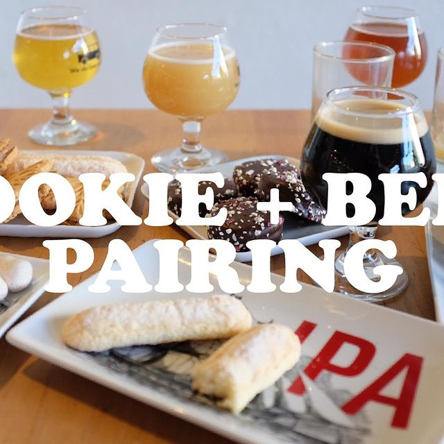 It's our firm belief that pie is the show-stopping diva of the holidays, but the humble, diverse and ever-present cookie is the real hero. Join us on Sunday, Dec 13th at 3:30PM PST as we taste through some of our favorite holiday beers and cookies in a live virtual tasting conducted by Hal + Cindy. ⁠ ⁠ Link in bio for tickets