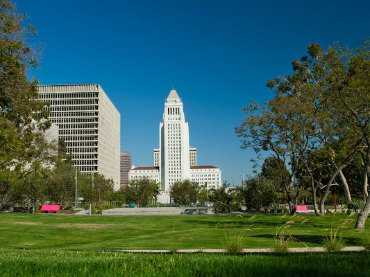 Main image for article titled The Sustainable City pLAn of Los Angeles