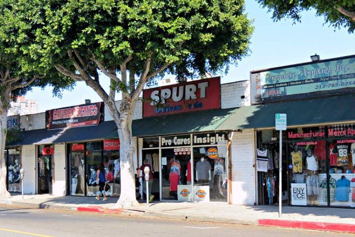Menswear district | Photo courtesy of L.A. Fashion District