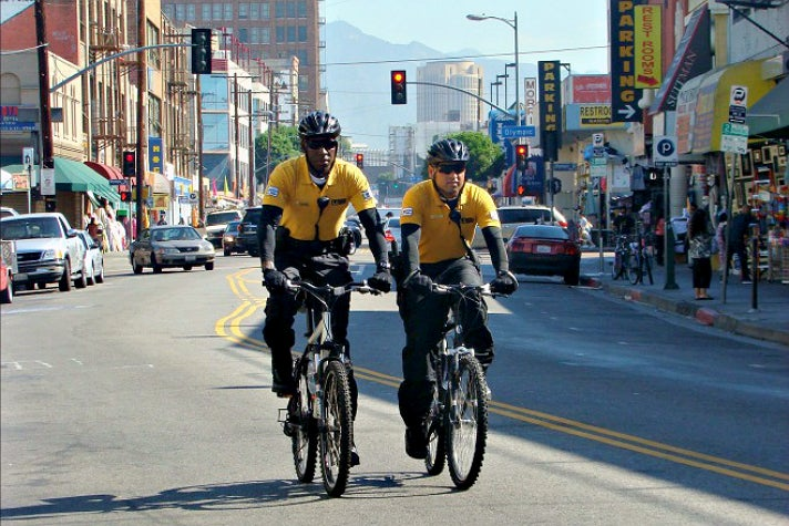 Safe Team | Photo courtesy of L.A. Fashion District, Facebook