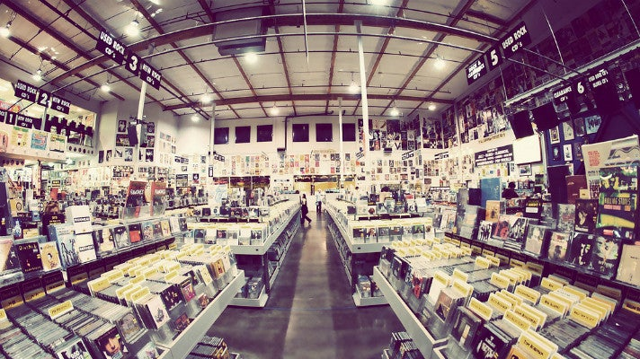the best record stores in los angeles discover los angeles california. Black Bedroom Furniture Sets. Home Design Ideas
