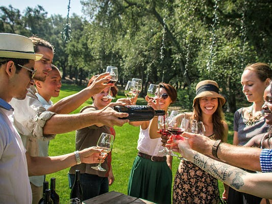 Main image for guide titled The Best Places in Los Angeles for Wine Lovers