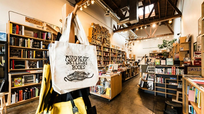 Find us in. Skylight books los angeles, ca • world of the weasel.