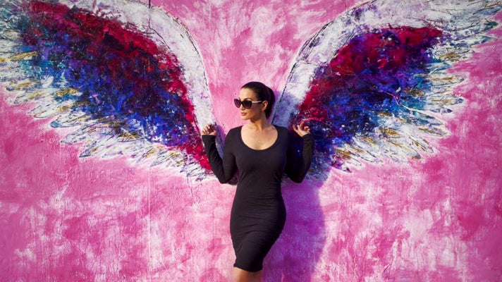 Discover the global angel wings project in los angeles for Decor art international