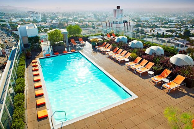 The Hottest Hotel Pools In Los Angeles Discover Los Angeles