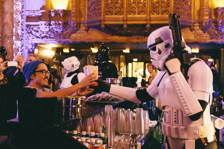 "Live read of ""The Empire Strikes Back"" 