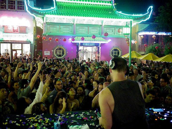 Jason Bentley at Chinatown Summer Nights