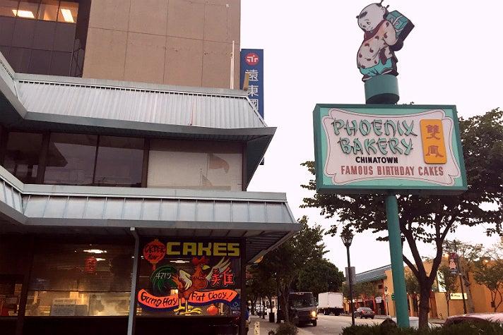 Phoenix Bakery on N. Broadway in Chinatown