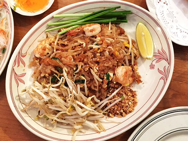 Main image for guide titled The Best Pad Thai in Los Angeles
