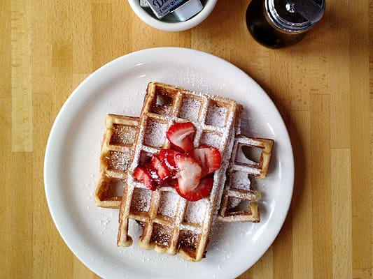 Main image for guide titled The Best Waffles in Los Angeles