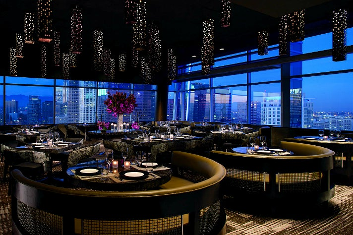 The best restaurants with a view in los angeles discover for Best private dining rooms los angeles