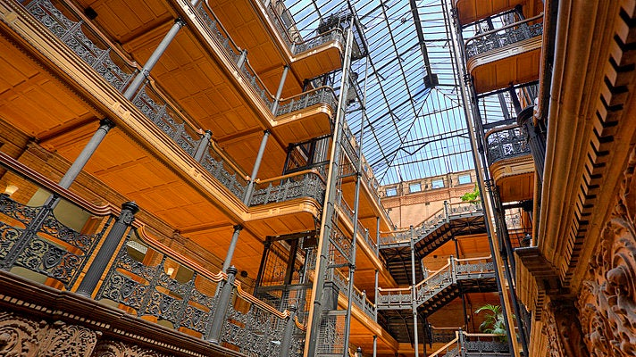 Bradbury Building in Downtown L.A. | Photo courtesy of Candice Montgomery, Flickr