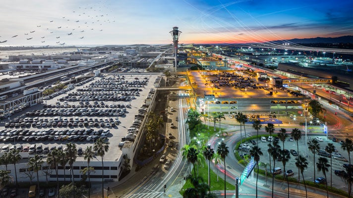 LAX | Photo courtesy of Mike Kelley
