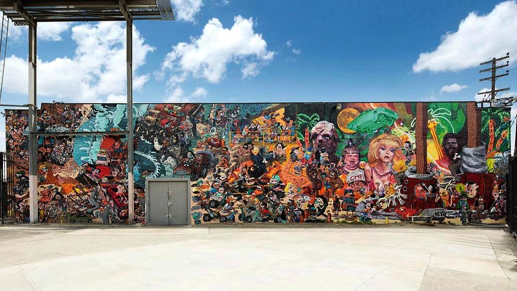 Colossal Media in the Arts District | Instagram by @colossalmedia