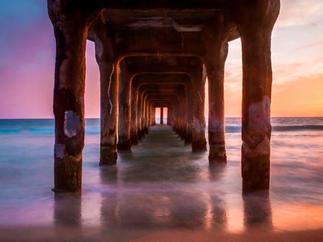 Manhattan Beach Pier | Photo by Melissa Turner