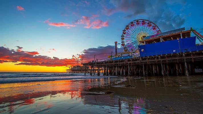 Santa Monica Pier | Photo: Shabdro Photo, Flickr
