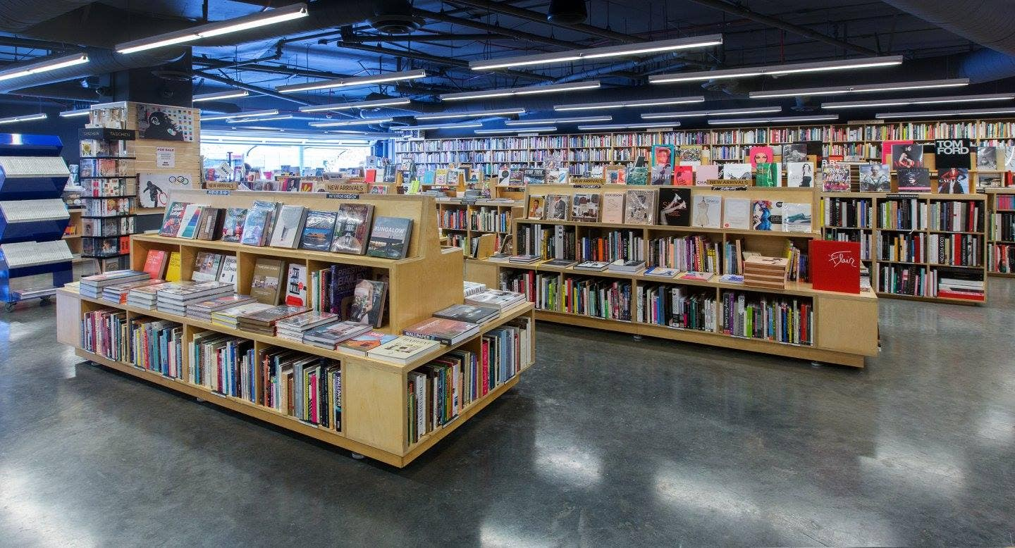 Hennessey + Ingalls bookstore in the Arts District