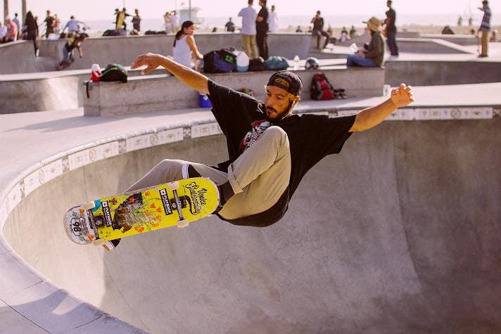 Venice Beach Skatepark | Photo courtesy of emilykneeter, Flickr