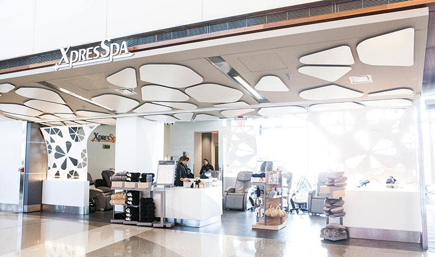 XpresSpa inside Tom Bradley International Terminal at LAX | Photo courtesy of Westfield Airports