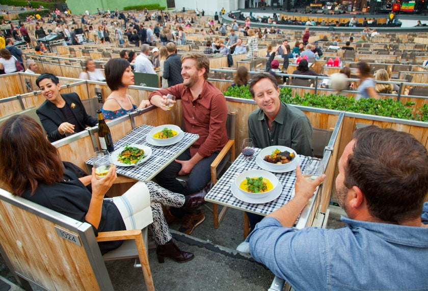 Supper in the Box Seats | Photo courtesy of Hollywood Bowl