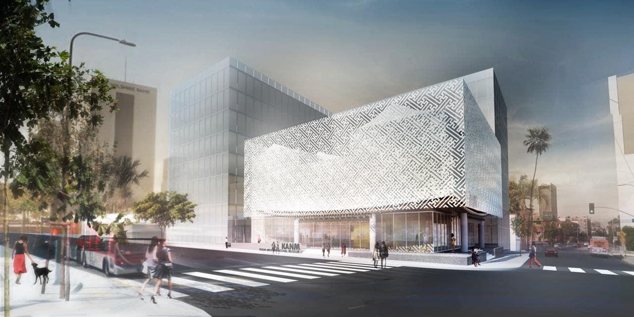 Rendering of the Korean American National Museum
