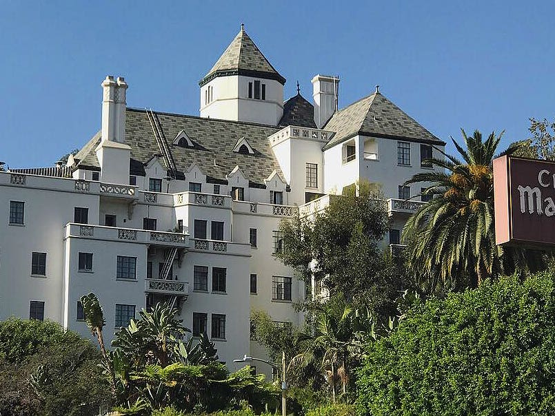 Main image for article titled Chateau Marmont: The Story of an L.A. Icon