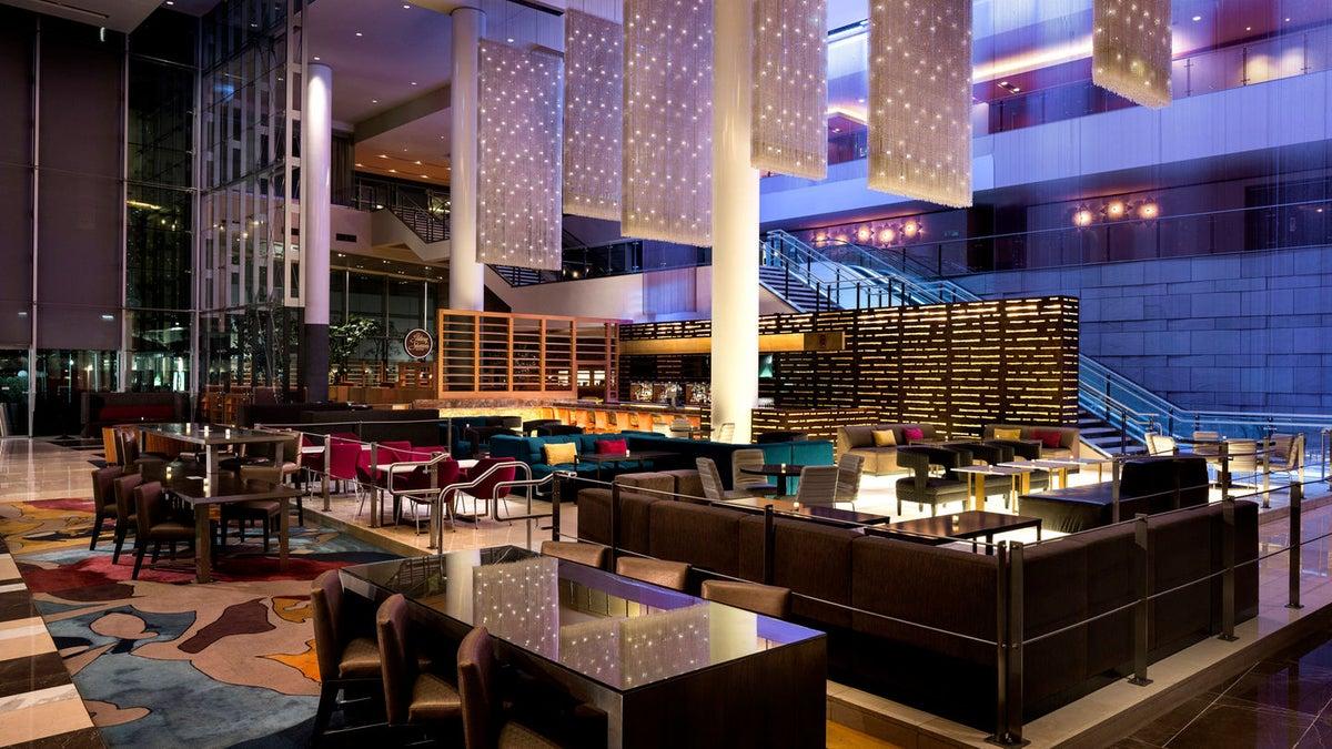 Living the pop life at jw marriott l a live discover - Jw marriott la live room service menu ...