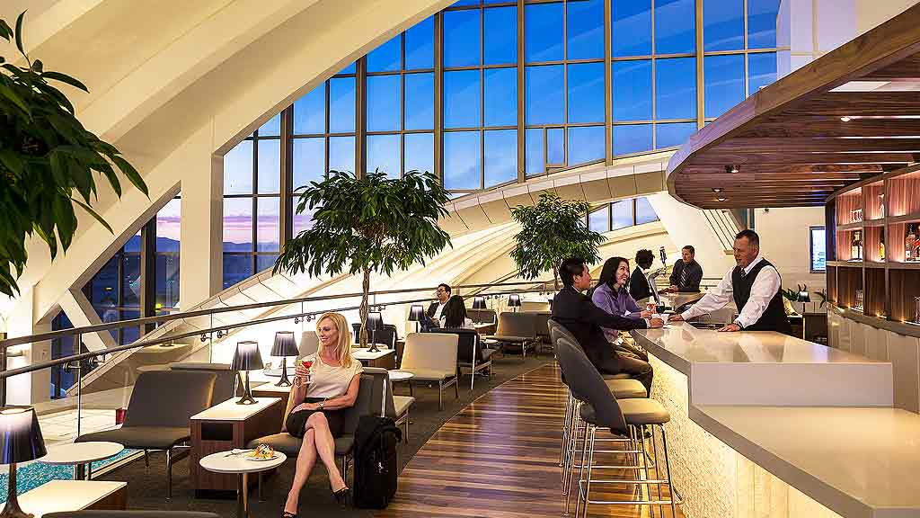 Star Alliance Lounge at LAX | Photo courtesy of Gensler