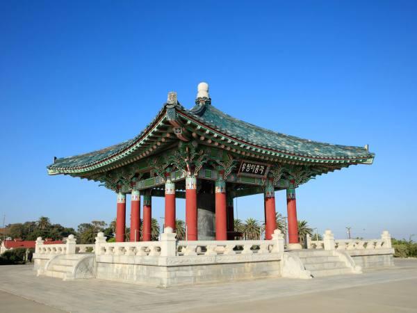 Korean Bell of Friendship in San Pedro
