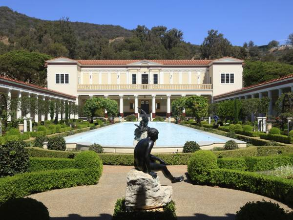 Getty Villa Gardens