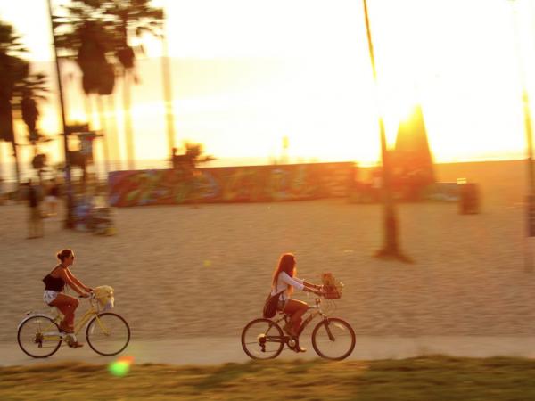 Venice Beach Sunset Bicycle Bike