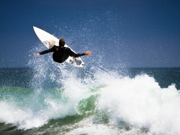 Leo Carrillo State Beach Surf Surfer
