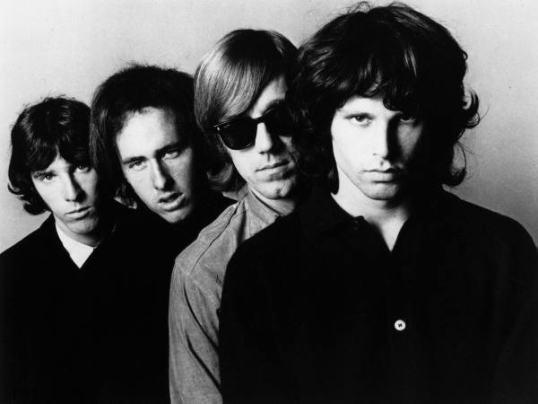 The Doors Elektra Records PR photo