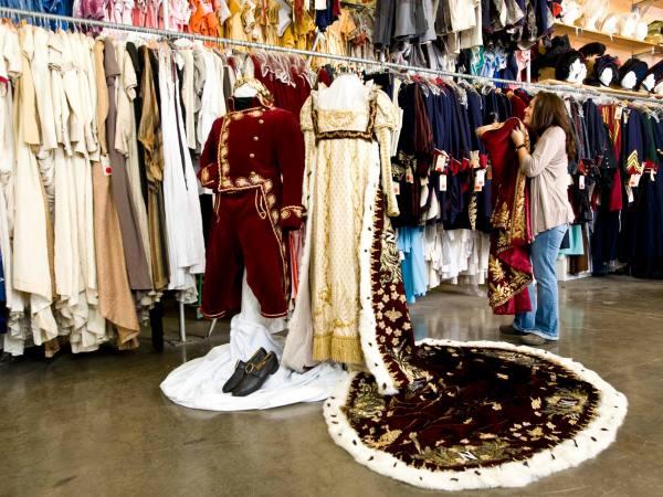 Napoleonic costumes | Photo: Western Costume Company, Facebook