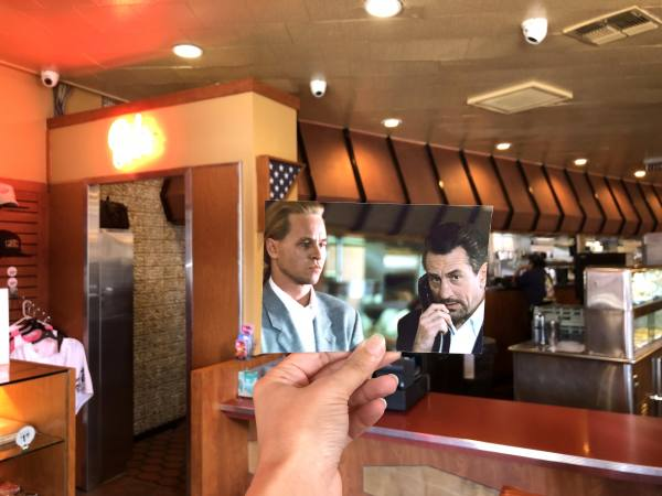 "Scene from ""Heat"" at Bob's Big Boy in Burbank"