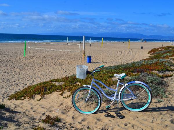 Manhattan Beach The Strand bike