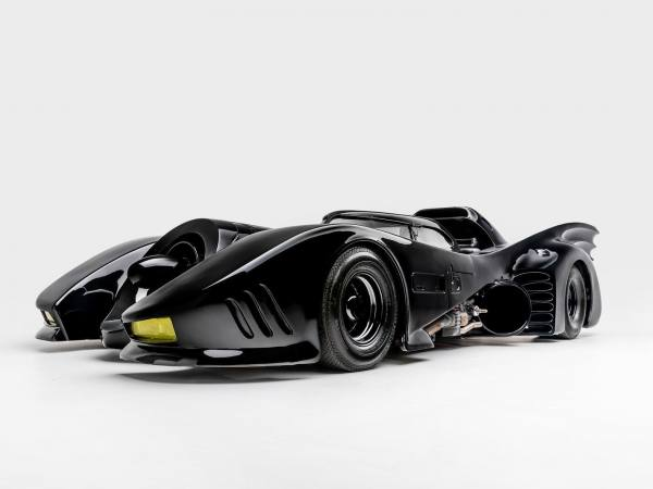 Batmobile from Batman (1989) and Batman Returns (1992) | Photo: Petersen Automotive Museum