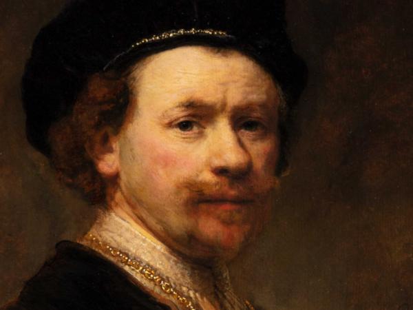 "Rembrandt ""Self-Portrait"" at the Norton Simon Museum"