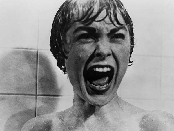 """Janet Leigh in """"Psycho"""" (1960)"""