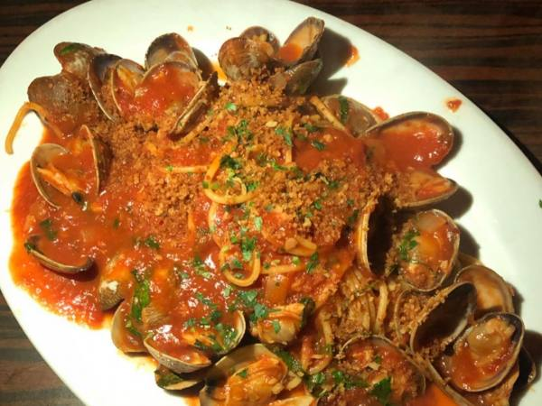 Frank's Spaghetti & Clams at Dear John's