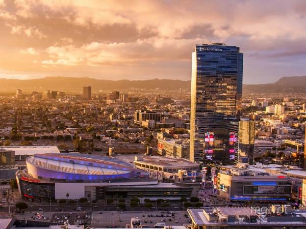 Main image for article titled Bem-vindo a Los Angeles / Hotéis