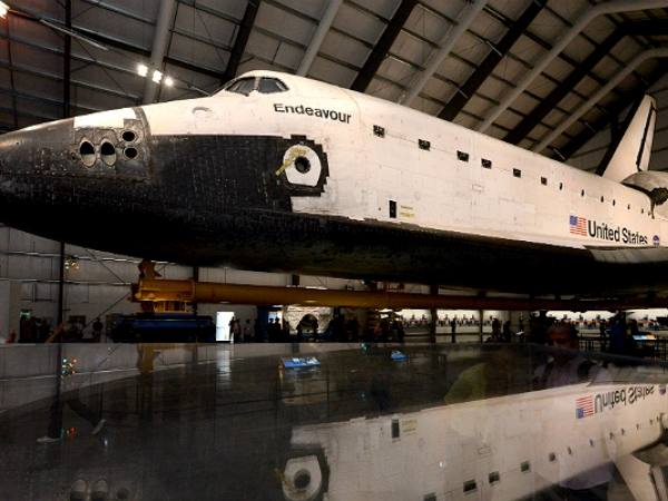 Main image for article titled Lo que no te Puedes Perder del Transbordador Espacial Endeavour