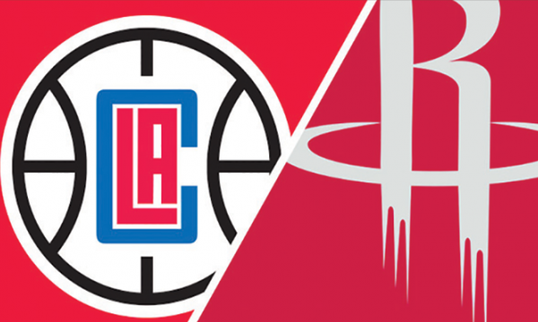 Main image for event titled LA Clippers vs Houston Rockets