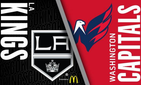 Main image for event titled LA Kings vs Washington Capitals