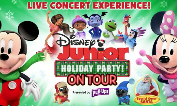 Main image for event titled Disney Junior Holiday Party!