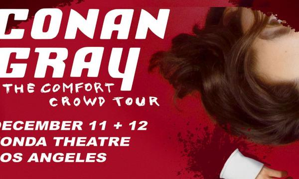 Main image for event titled Conan Gray: The Comfort Crowd Tour - 2nd Show Added