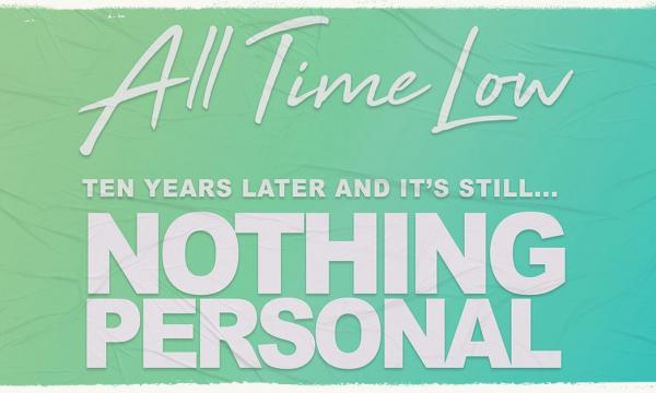 Main image for event titled All Time Low