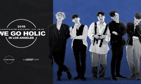 Main image for event titled WE GO HOLIC